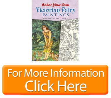 Color Your Own Victorian Fairy Paintings Dover Art Coloring ...